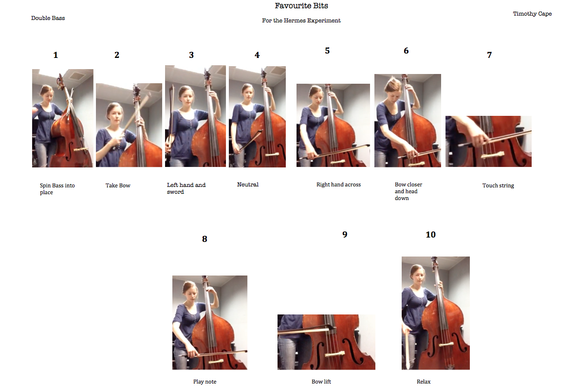 favourite bits - harp